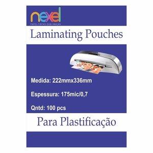 Bolsas de laminação para Plastificação Oficio 175mic 0.7 222mmx336mm C\100 Unidade